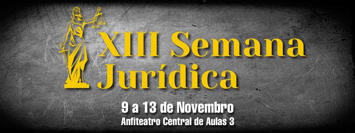 XIII Semana Jurídica