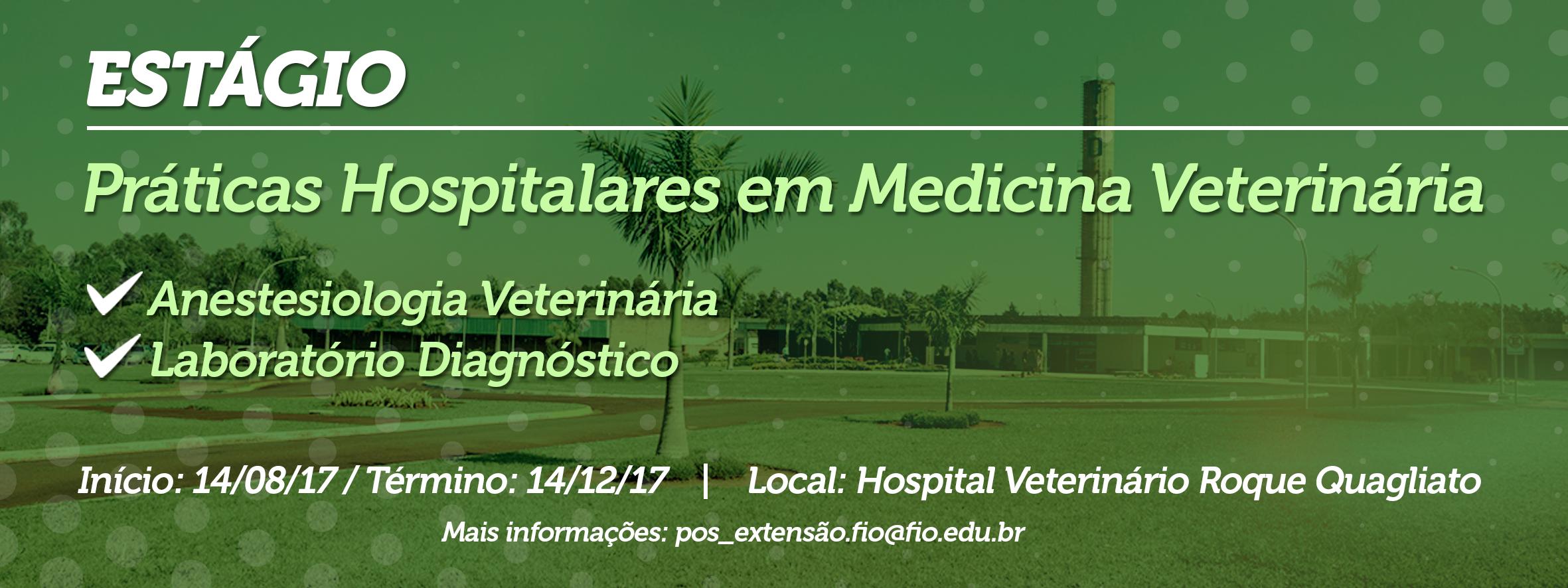 Práticas Hospitalares em Medicina Veterinária