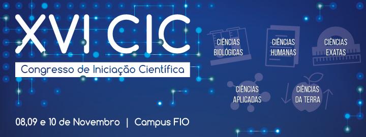 XVI Congresso de Iniciação Científica FIO 2017