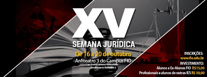 XV Semana Jurídica